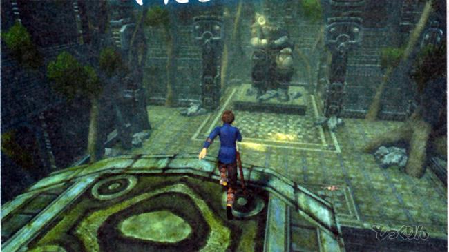 Más ruinas de Mabinogio