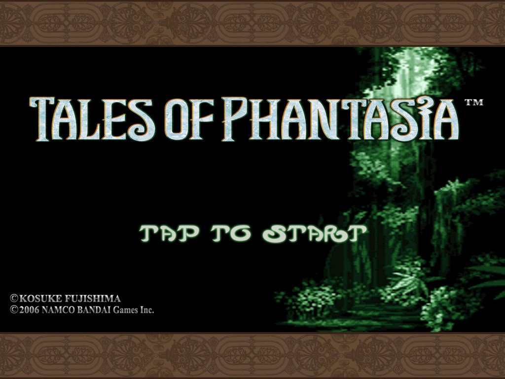 Tales of Phantasia iOS